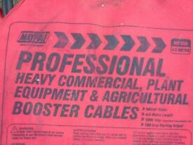 Heavy duty jump leads good quality never used