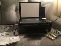 Epson Stylus Colour Printer / Scanner + 7 sealed ink cartridges