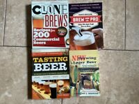 4 Books on homebrewing