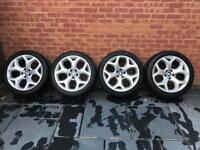 Genuine BMW 214 Y Spoke 20 inch alloys with Bridgestone tyres