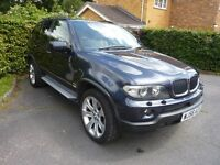 2006 56 BMW X5 3.0d SPORT AUTO PAN ROOF XENONS SIDE STEPS HEATED LEATHER F/S/H EXCELLENT CONDITION
