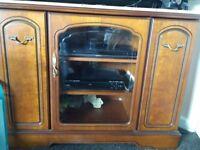 TV unit W 28 H 38 D 18