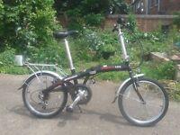 Ammaco PAKKA LITE Aluminium Folding Bike