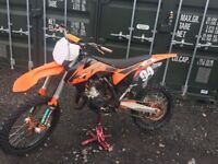 Ktm sx125 2011 swaps for enduro can add cash