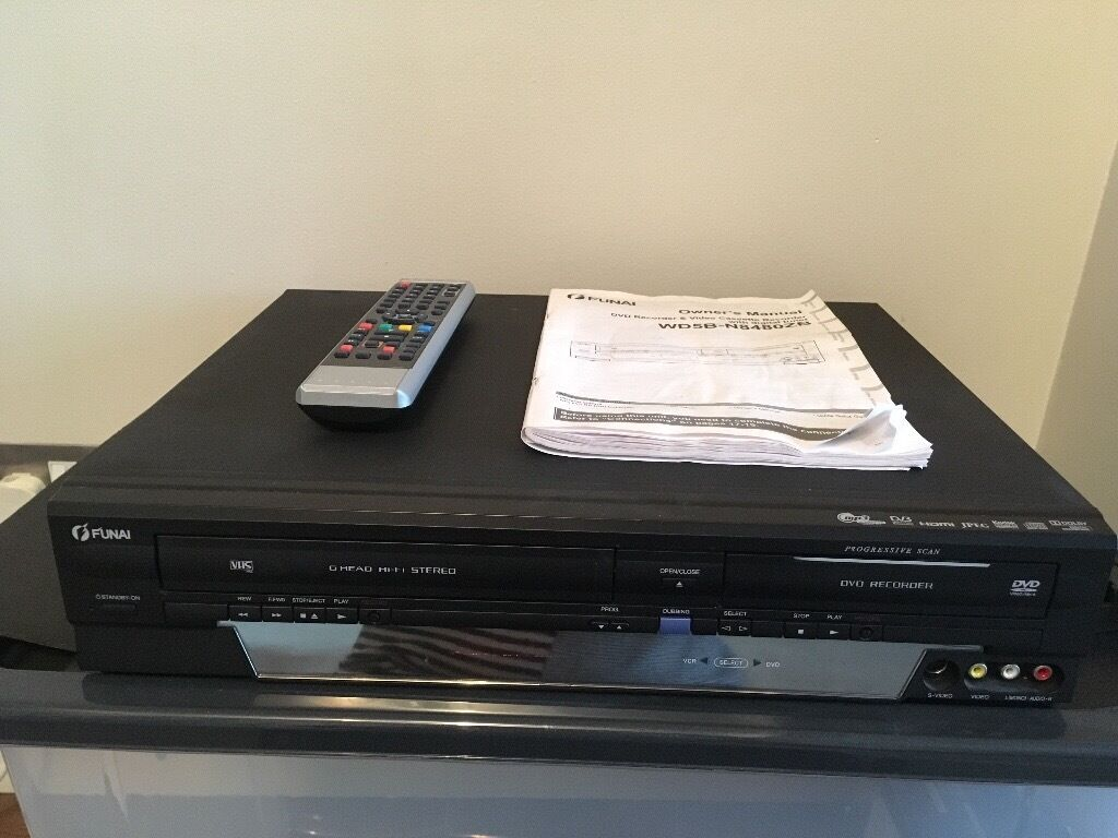 Funai DVD Recorder & Video Cassette Recorder | in Bromley, London