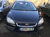 Ford Focus black front bumper - breaking parts