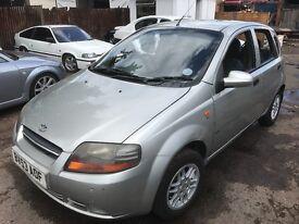 Seat Sold BUT DO HAVE A DEAWOO KALOS 2003, Petrol 1.3 cc, Alloy Wheels,Drives Great 5 Door Petrol