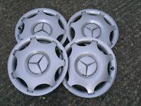 Mercedes Benz C180 wheel hub caps