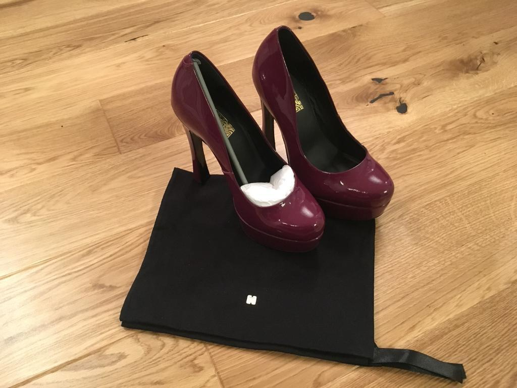 Biba Wine Purple Court Shoes Size 5 BRAND NEW WITH BOX