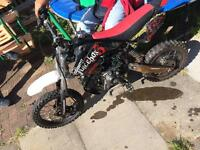 125cc stomp juice box pitbike