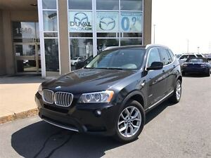 2011 BMW X3 XDRIVE 28I + TOIT PANORAMIQUE + CUIR