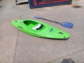 Pyranha inazone kayak canoe