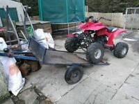 250cc yamaha raptor quad