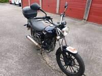 Lexmoto 125 motorbike for sale.