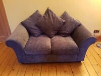 Excellent quality charcoal/ grey sofa for sale