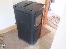 Wood pellet stove for sale used but not much looking £400.00