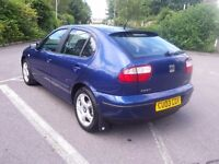 SEAT LEON SE 1.9 TDI PD DIESEL ONLY 65000m WITH HISTORY ONE OWNER GOOD CONDITION PART EX WELCOME