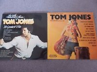 Tom Jones double LP and Tom Jones sung by Danny Street LP