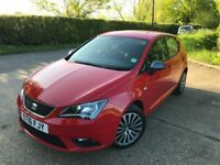 Seat Ibiza Connect 1.2 petrol ONLY 3400 miles