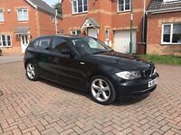 2009 BMW 1 SERIES 1.6 ES 116i, FULL SERVICE HISTORY, MILEAGE 56000, MOT FEB 2018, HPI CLEAR