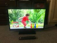 "Altius 24"" LED TV with built-in DVD"