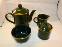 vintage Asian ironstone tea set