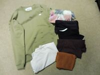Lot of Mens Large New Look BooHoo T-shirts, King Kourture Distressed Jumper (most new)
