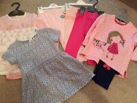 Baby girls bundle of clothes NEW 9-12 months