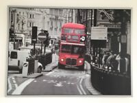 Ikea Vilshult Picture London Bus 140x100 cm excellent condiotion