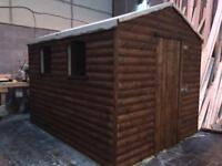 10x8 shed , 32mm weatherboard