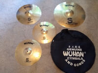 Wuhan Cymbal Set and Carry Case