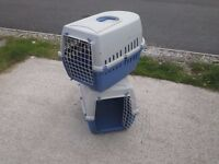 2 x approved pet carriers Small Dog/Cats & Rabbits Blue
