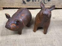 Garden Pigs - Cast Iron