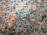 MASSIVE Collection of 260 Antique Postage Stamps From Around The World - Excellent Condition