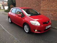 2007 TOYOTA AURIS RT VVT-I 1.6 CC, FULL SERVICE HISTORY 01 FORMER KEEPER FROM BRAND NEW