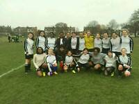 Women's Ladies Football Soccer play Match game & Train every Saturday