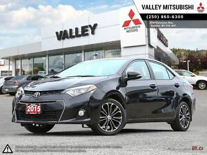 2015 Toyota Corolla S-BACKUP CAMERA, SUNROOF, LEATHER SEATS, BLU