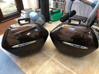 Yamaha FJR1300 Panniers Magnetic Bronze