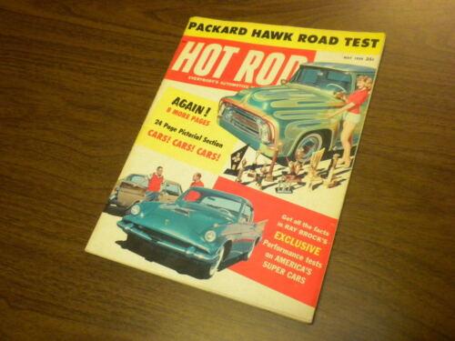 HOT ROD magazine 1958 MaY