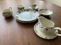 Poole pottery - plates, jugs etc. Cranborne