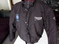 Triumph motorcycle jacket size XL ,black