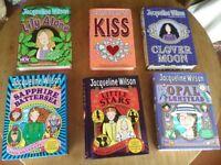 Set of 6 Jacqueline Wilson Hardback Books
