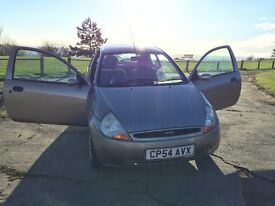 Gum Metal Silver Ford Ka style-2004 Model: long MOT and Low mileage