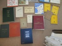 MUSIC BOOKS, SHEET MUSIC BOOKS, SONG BOOKS, MANUSCRIPT PAPER