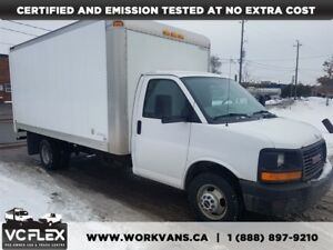 2007 GMC Savana 3500 16Ft V8 Gas - ONLY 60,000km