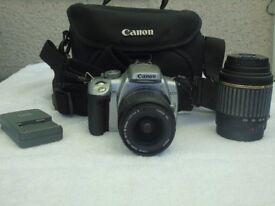 Canon EOS 400D digital Camera & Lenses