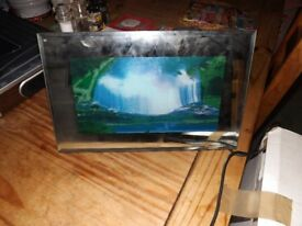 electric moving picture waterfall