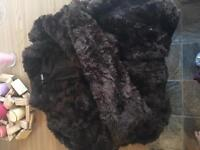 Fluffy Brown Coat