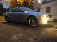 2004 FACELIFT M SPORT CABRIOLET BMW 318CI CONVERTIBLE 2004 STRAIGHT SIX PX SWAP OR CASH