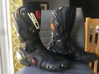 SIDI motorcycle boots - uk size 10.5